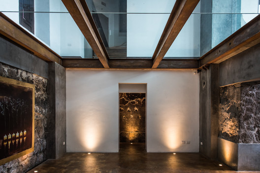 Lucernario Galería Salón Canocanela Arquitectura