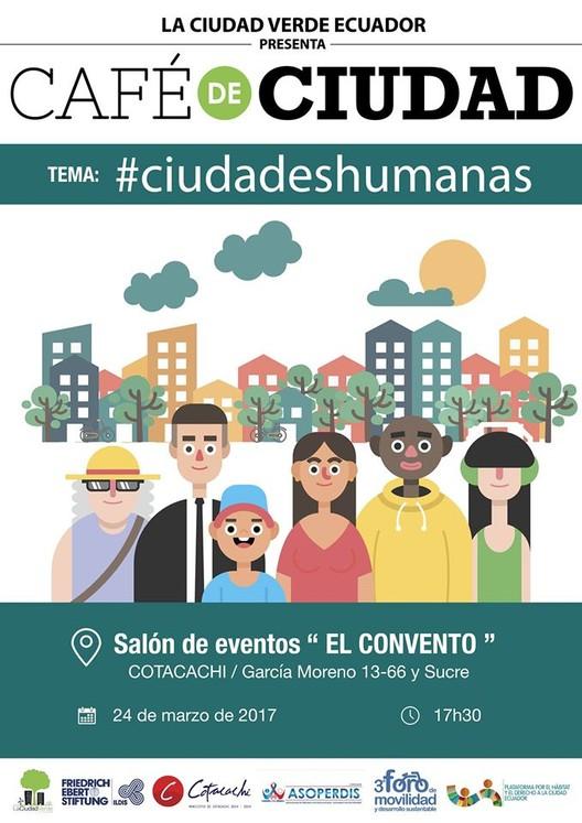 Café de Ciudad: ciudades humanas