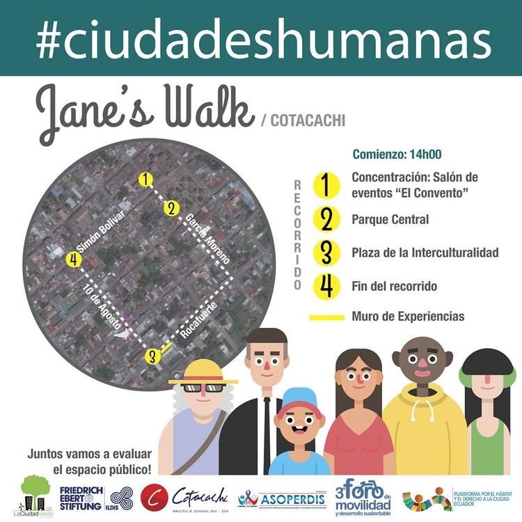 #CiudadesHumanas: Jane's Walk en Cotacachi