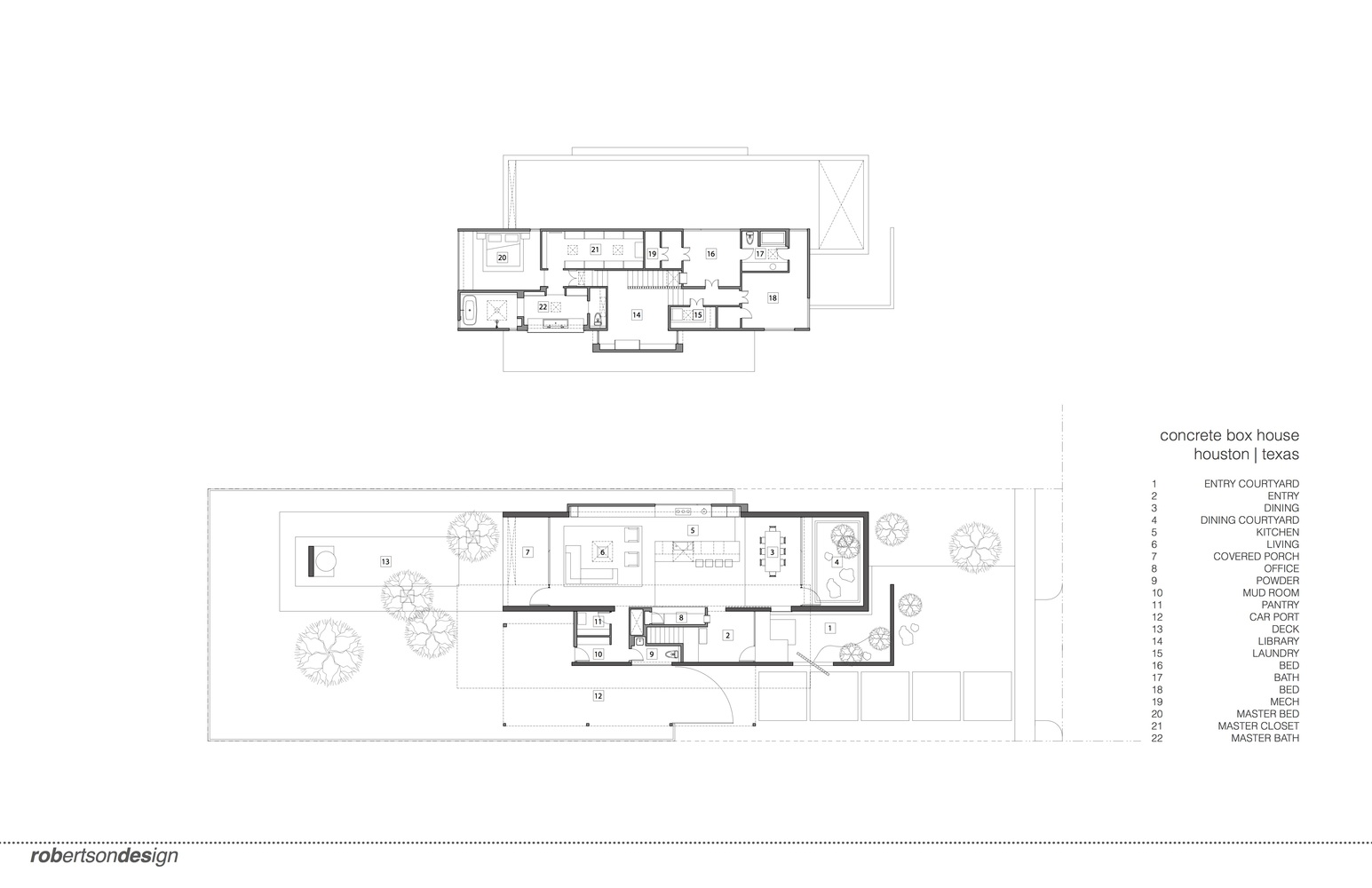 Gallery Of Concrete Box House Robertson Design 32