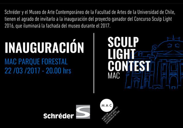 Luces y colores iluminarán la fachada del MAC de Santiago desde este 22 de marzo, Schreder