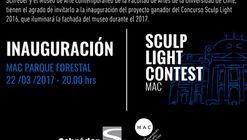 Luces y colores iluminarán la fachada del MAC de Santiago desde este 22 de marzo