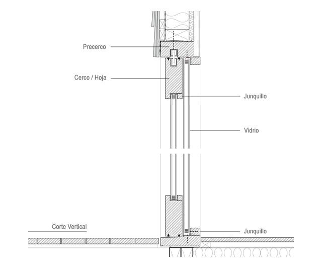 Materiales Ventanas Componentes Y Detalles Plataforma Arquitectura