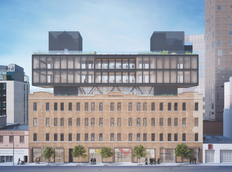 Morris Adjmi to Transform High Line-Adjacent Warehouse Into Office Building in New York, © Morris Adjmi Architects