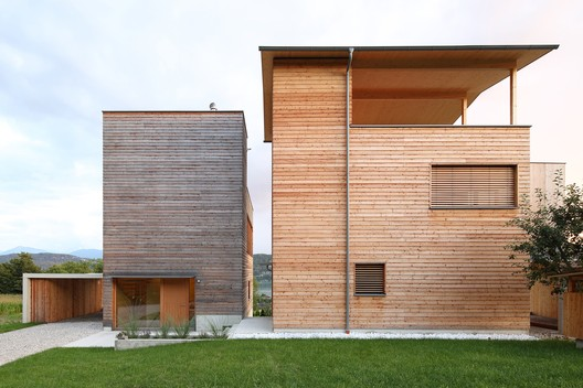 Two Wooden Towers / Sonja Hohengasser & Juergen Wirnsberger