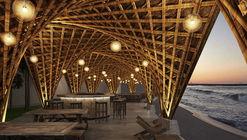 Vo Trong Nghia Architects projeta resort de bambu no Vietnã