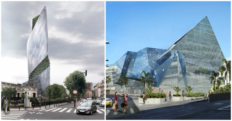 Studio Libeskind Wins Competitions for 2 New Projects in France, Images by Luxigon and Studio Libeskind