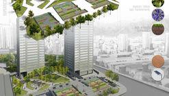 'San Borja + Verde', ganador del primer concurso de ideas para transformar Pasarelas Verdes en Santiago