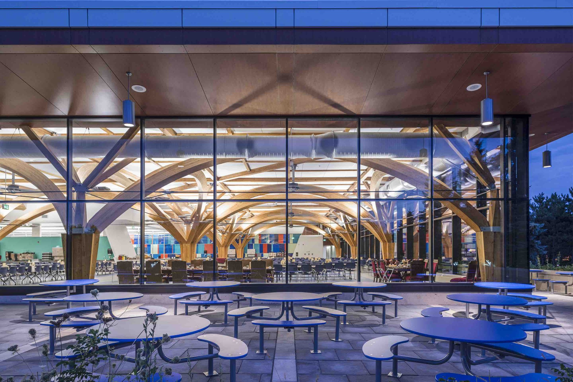 gallery of cfb borden all ranks kitchen and dining facilities    fabriq architecture   zas