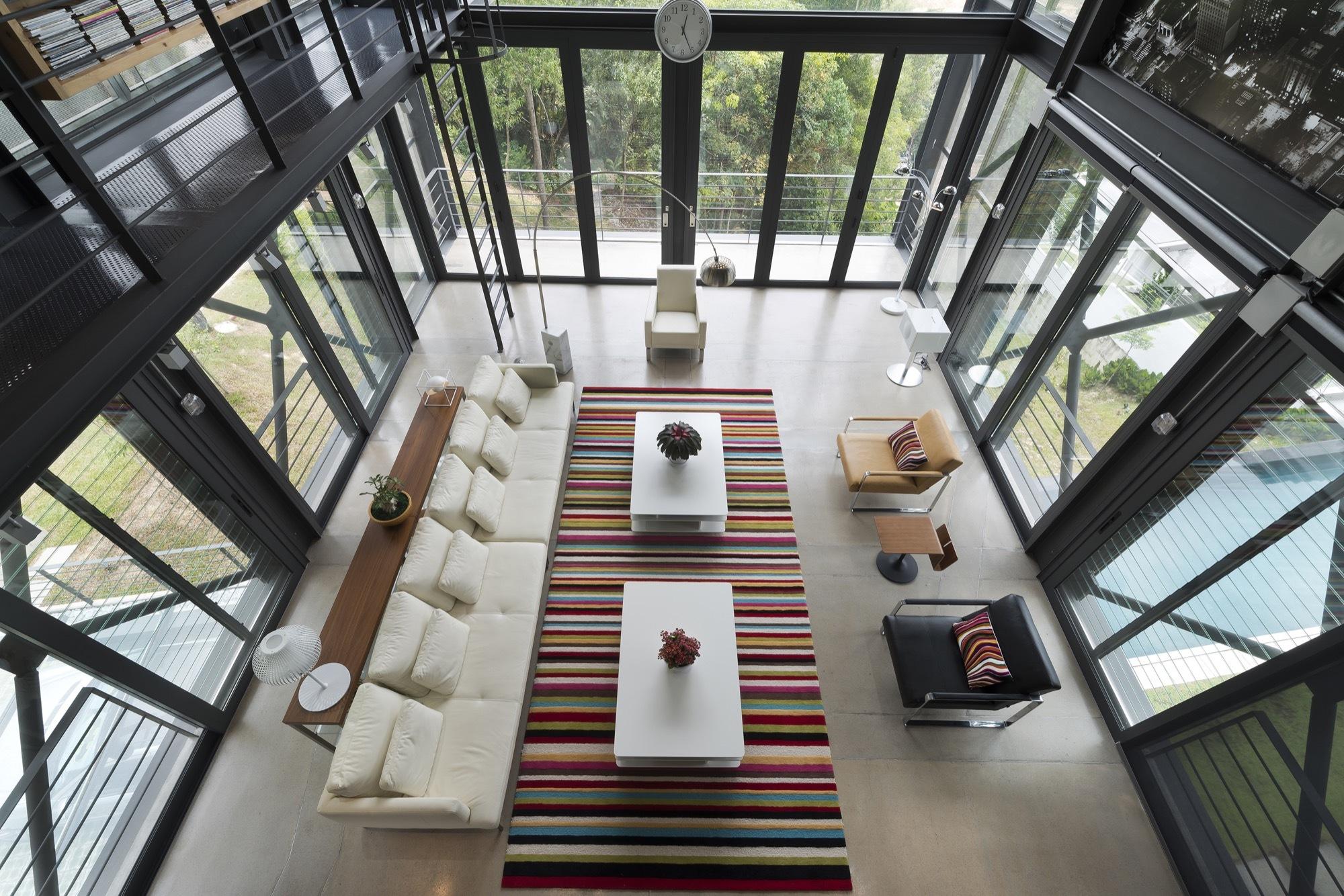 Cantilever House By Design Unit