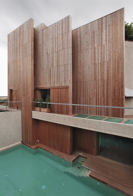House in Pedralbes / BC Estudio Architects, © Julio Cunill