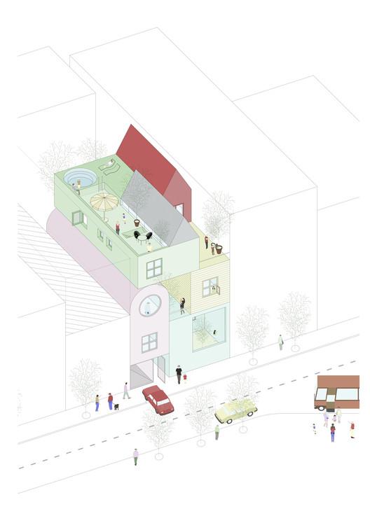 ¿Qué casa nos merecemos? Exploraciones del Estudio MAPAA en relación a la vivienda contemporánea, Cortesía de MAPAA