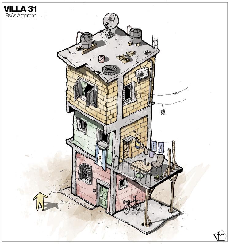 La arquitectura oculta a mano alzada por fernando neyra for 5 principales villas ocultas