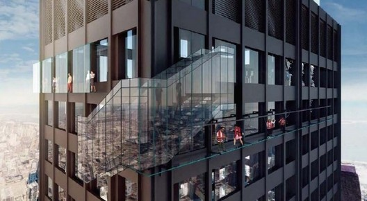 Willis Tower To Receive $20 Million of New SkyDeck Attractions, Courtesy of Morningstar. Via Crain's