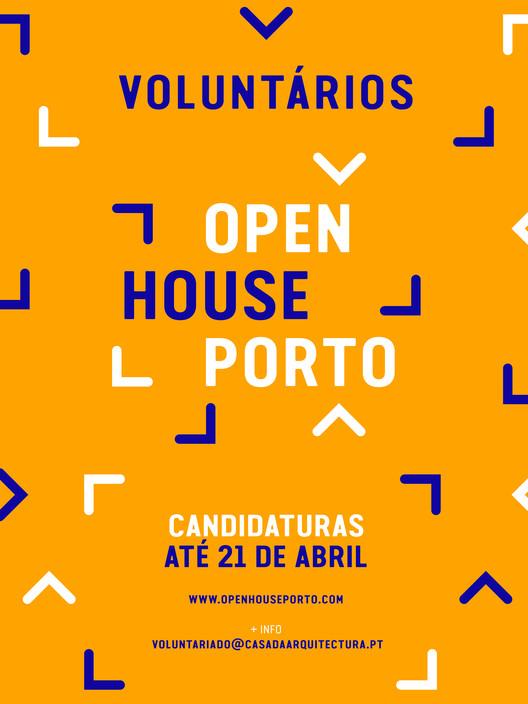 3ª edição Open House Porto: Abertas candidaturas para Voluntários, Cortesia de Open House Porto 2017