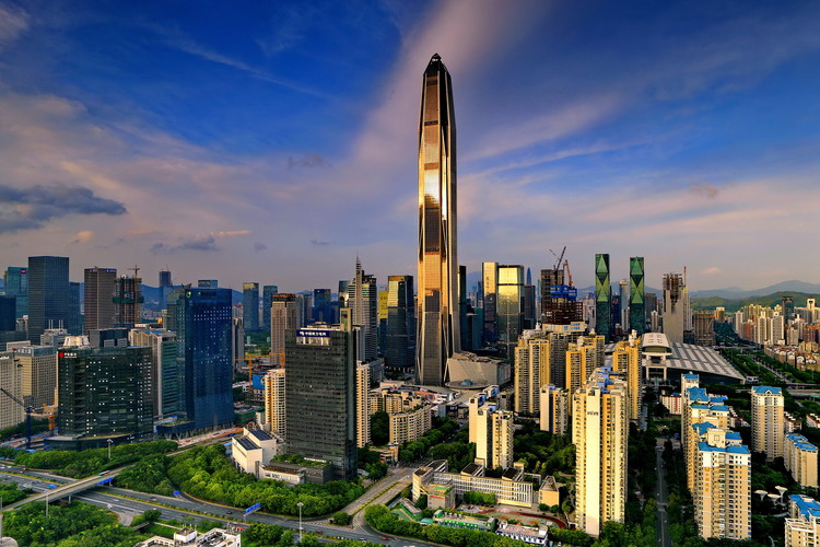 CTBUH Crowns Ping An Finance Center as World's 4th Tallest Building, © Ping An Finance Center