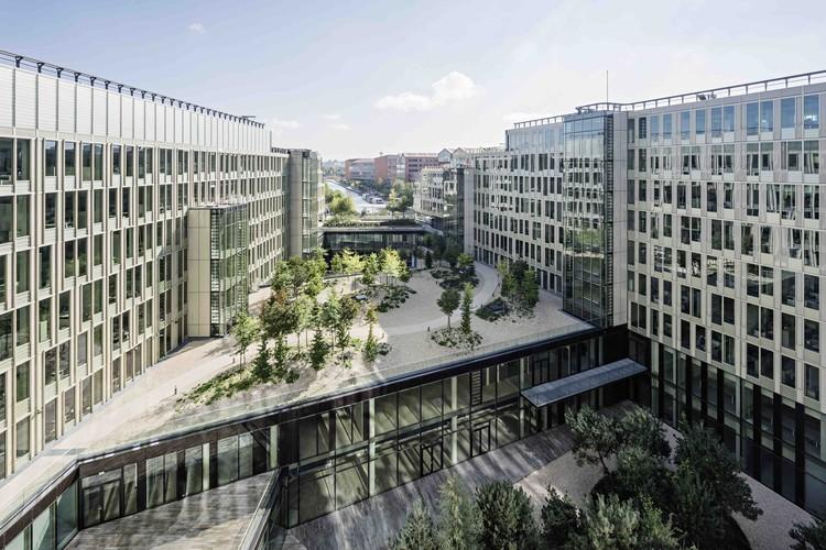 Sede principal da Veolia / Dietmar Feichtinger Architectes, © Hertha Hurnaus