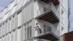 Housing Units Castagnary / Dietmar Feichtinger Architectes