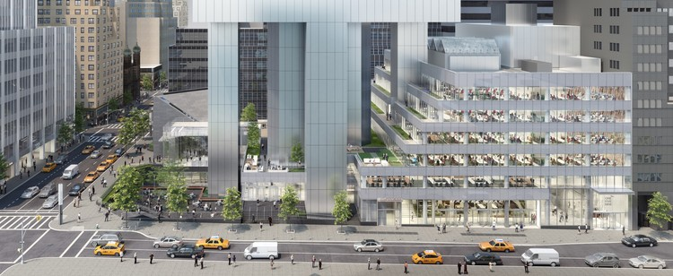 Gensler to Complete 200,000-Square-Foot Renovation of New York's Citicorp Center, © Gensler