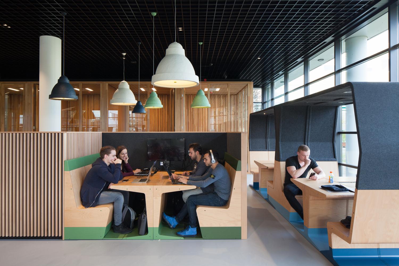 Mecanoo And Gispen Design Modular Furniture Collection For Flexible  Learning Environments,Courtesy Of Mecanoo