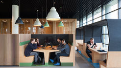 Mecanoo y Gispen Design presentan colección de muebles modulares para entornos de aprendizaje flexibles