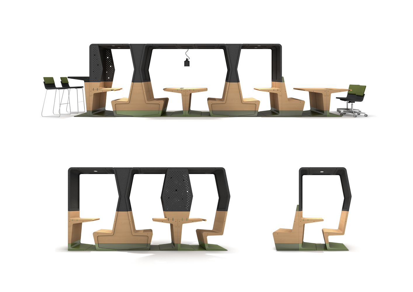 Gallery Of Mecanoo And Gispen Design Modular Furniture Collection
