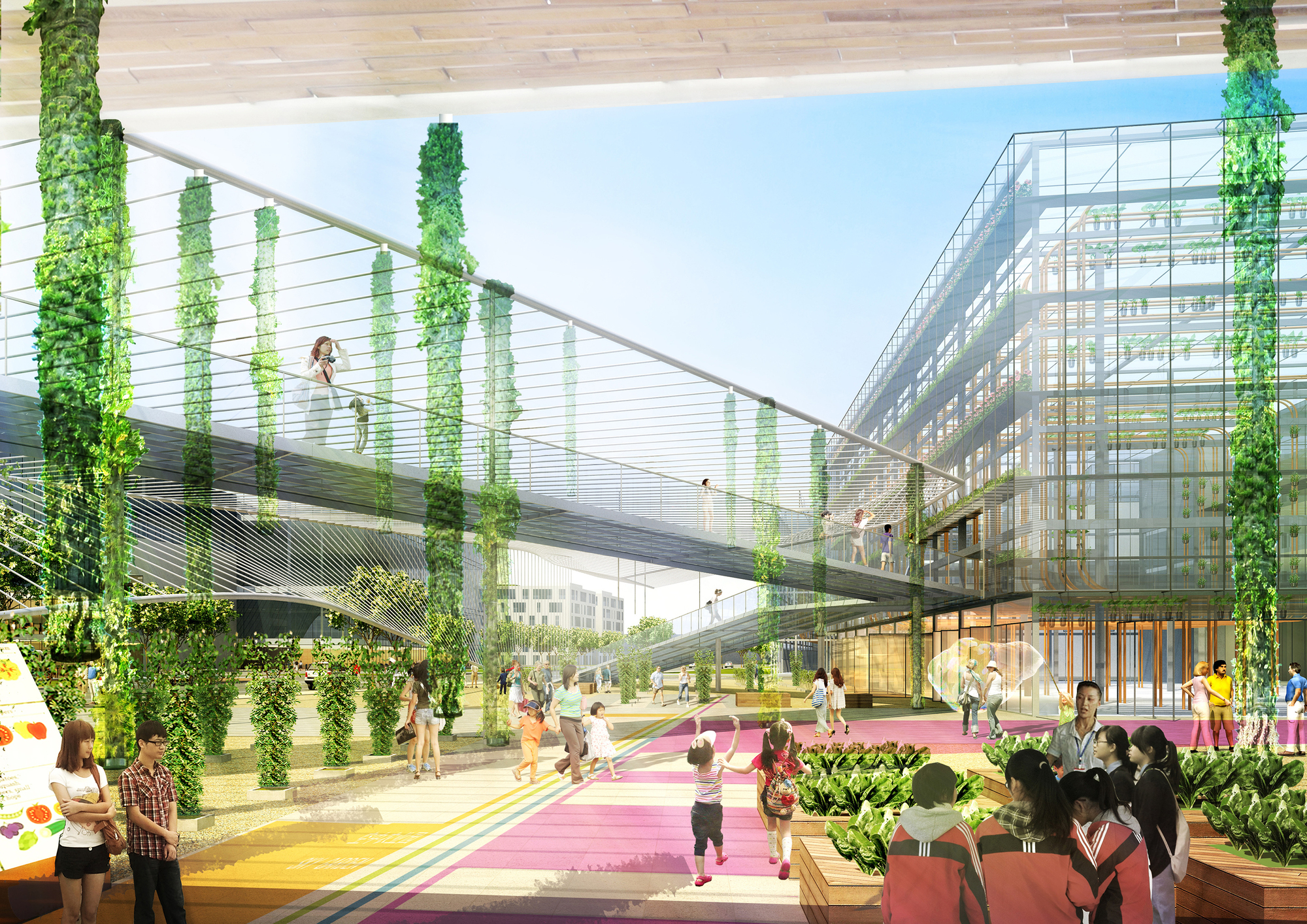 Gallery Of Sasaki Unveils Design For Sunqiao A 100