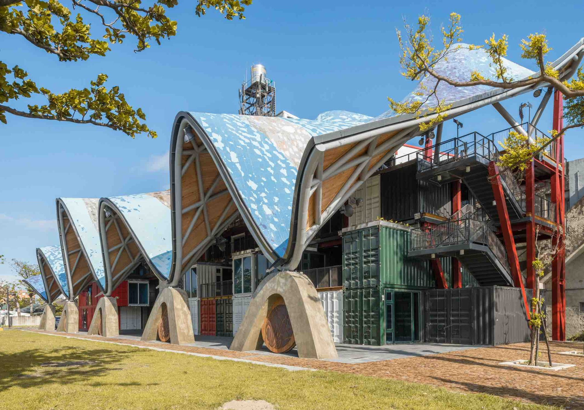Taitung Aboriginal Gallery Bio Architecture Formosana