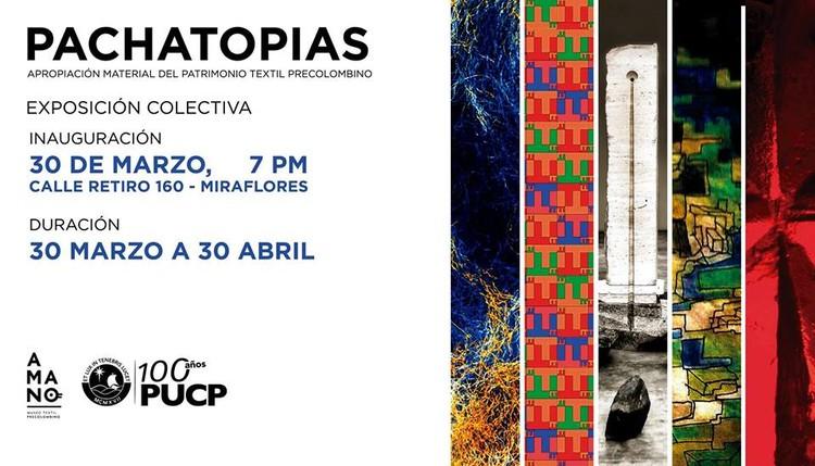 PACHATOPÍAS: Buscando a Wiracocha - Exposición Colectiva, Organizadores del evento