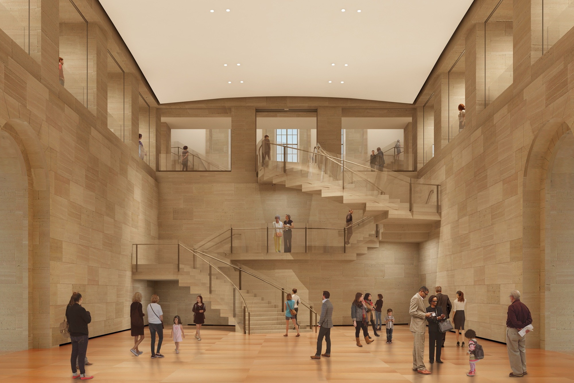 Philadelphia Museum Of Art Breaks Ground On Frank Gehry 39 S