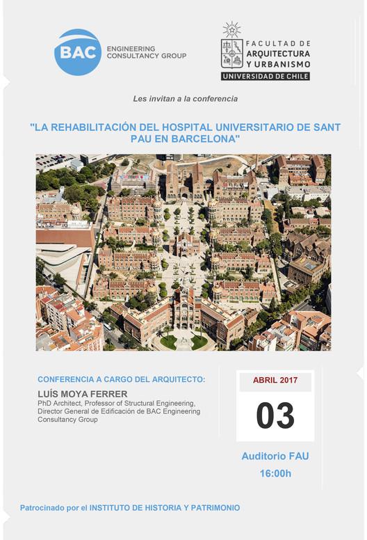 Charla magistral 'Rehabilitación del Hospital Universitario Sant Pau', Ana Mas