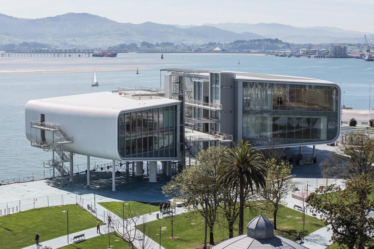 Centro Botín, primeira obra de Renzo Piano na Espanha, será inaugurado em junho, Centro Botín em Santander, Espanha. Imagem © Fundación Botín. Belén de Benito