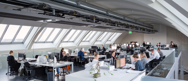 "US News and World Report's Best Job Ratings Find ""Very Solid"" Outlook for Architecture, The Offices of ALA Architects. Image © Marc Goodwin"