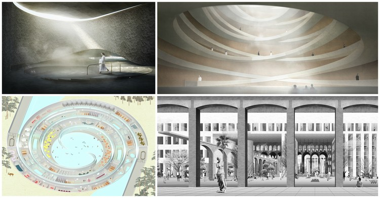 Korean Demilitarized Zone Underground Bathhouse Competition Winners Announced, Courtesy of arch out loud