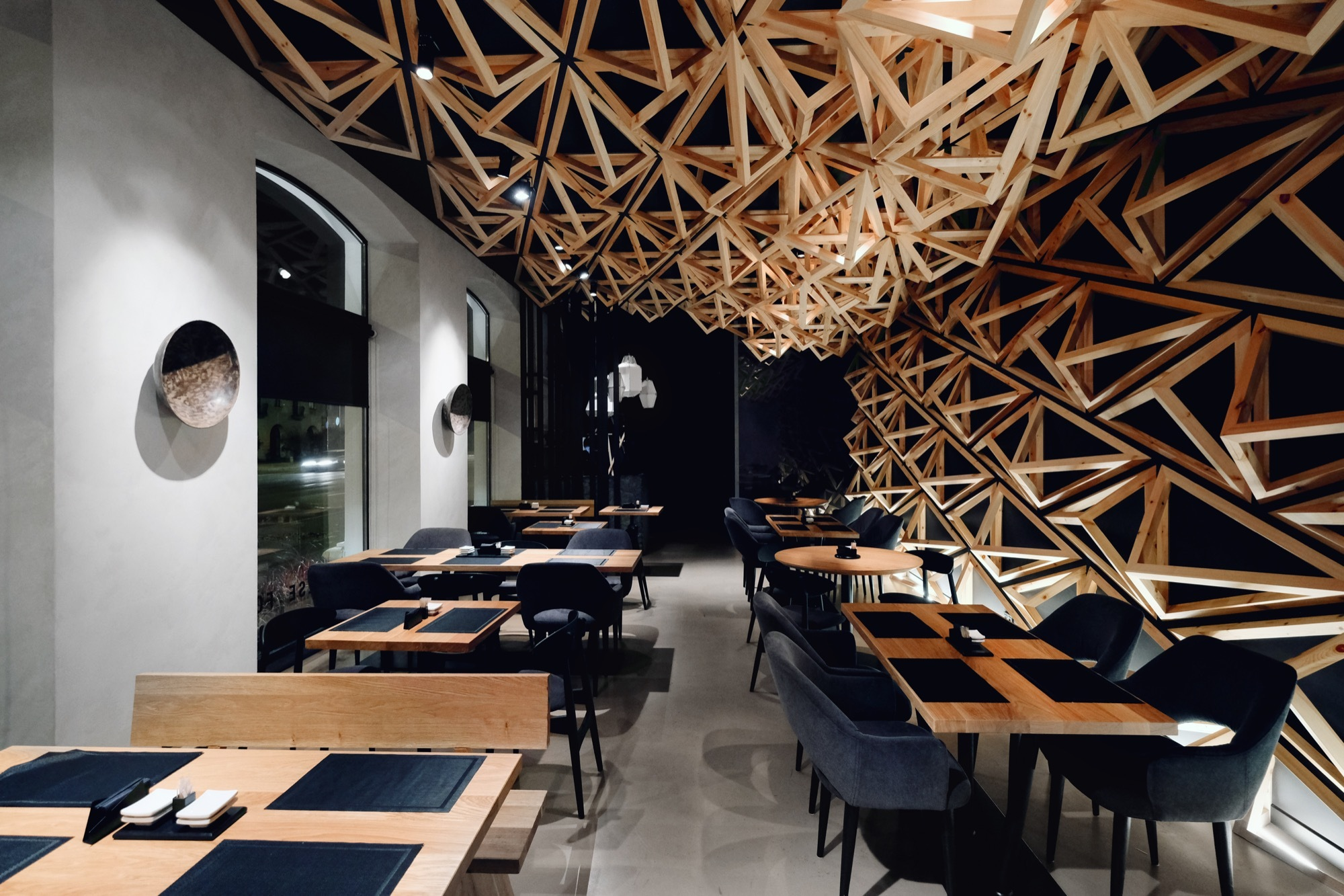 Kido Sushi Bar Da Architects Archdaily