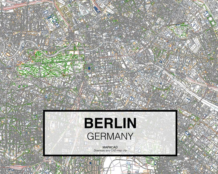 Download High Resolution World City Maps For CAD ArchDaily - Germany map download