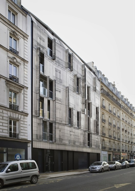 Haussmann Stories / Chartier-Corbasson architects | ArchDaily