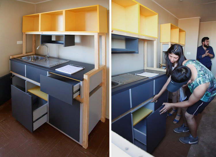 3 Cozinhas mínimas e de baixo custo que você pode construir / Parte I