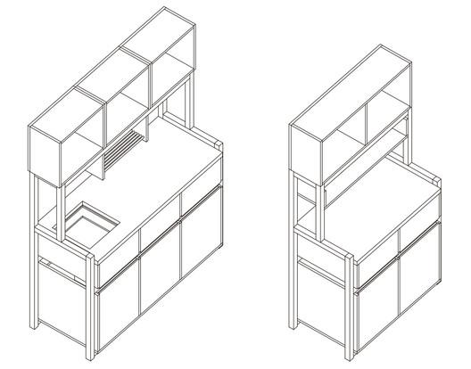 ¿Cómo construir una cocina modular? (Parte 1)
