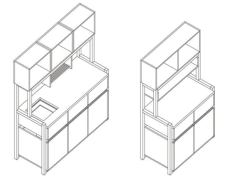 How to Build a Modular Kitchen (Part 1), Design by Jhan Arancibia. Courtesy of Arauco