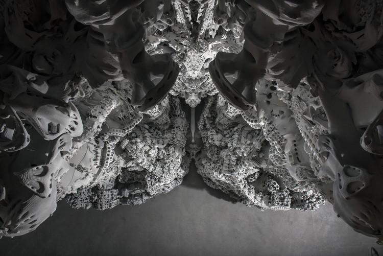 Esta misteriosa gruta impresa en 3D desafía los límites de la geometría computacional y la percepción humana, © Michael Lyrenmann