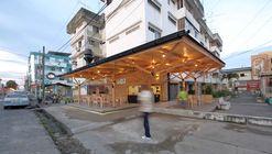 Restaurante Urbano - La Pesca / Natura Futura Arquitectura