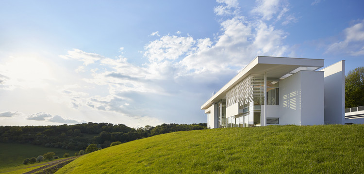 Residência Oxfordshire / Richard Meier & Partners, © Hufton+Crow