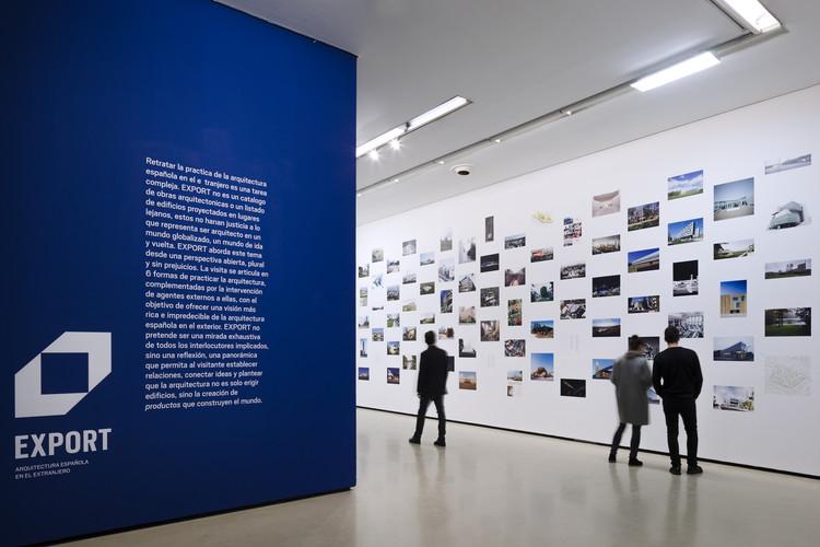 'EXPORT: Arquitectura Española en el Extranjero' arriba en Estados Unidos, EXPORT en Museo ICO en 2016. Image © Miguel de Guzmán