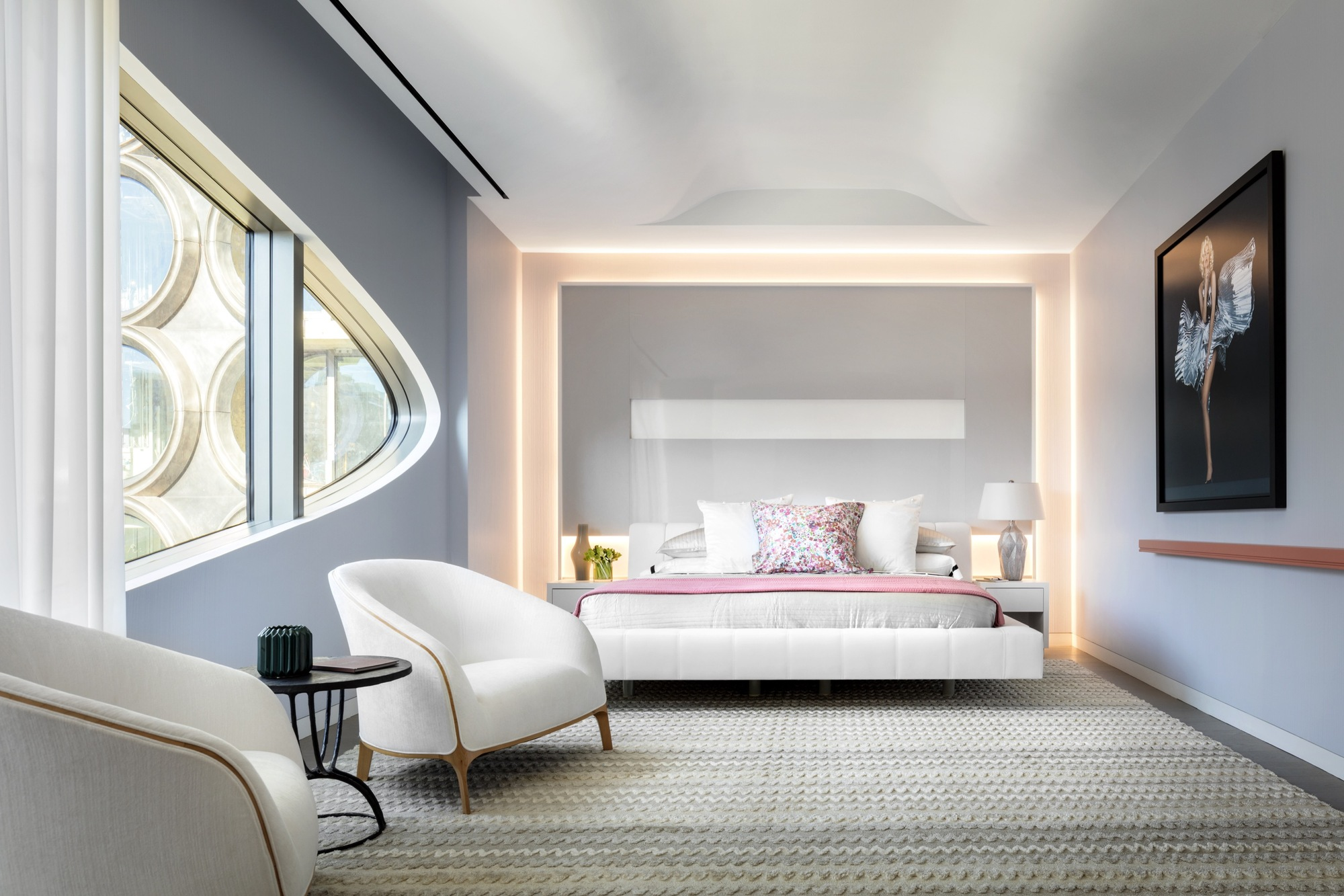 Gallery Of Interiors Of Zaha Hadid 39 S Nearly Complete High Line Residential Building Revealed 6