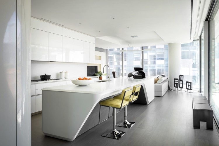 Interiors Of Zaha Hadidu0027s Nearly Complete High Line Residential Building  Revealed, Unit 20.