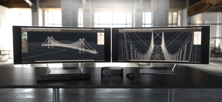 HP Z2 Mini: a primeira mini workstation do mundo exclusiva para CAD, Cortesía de HP