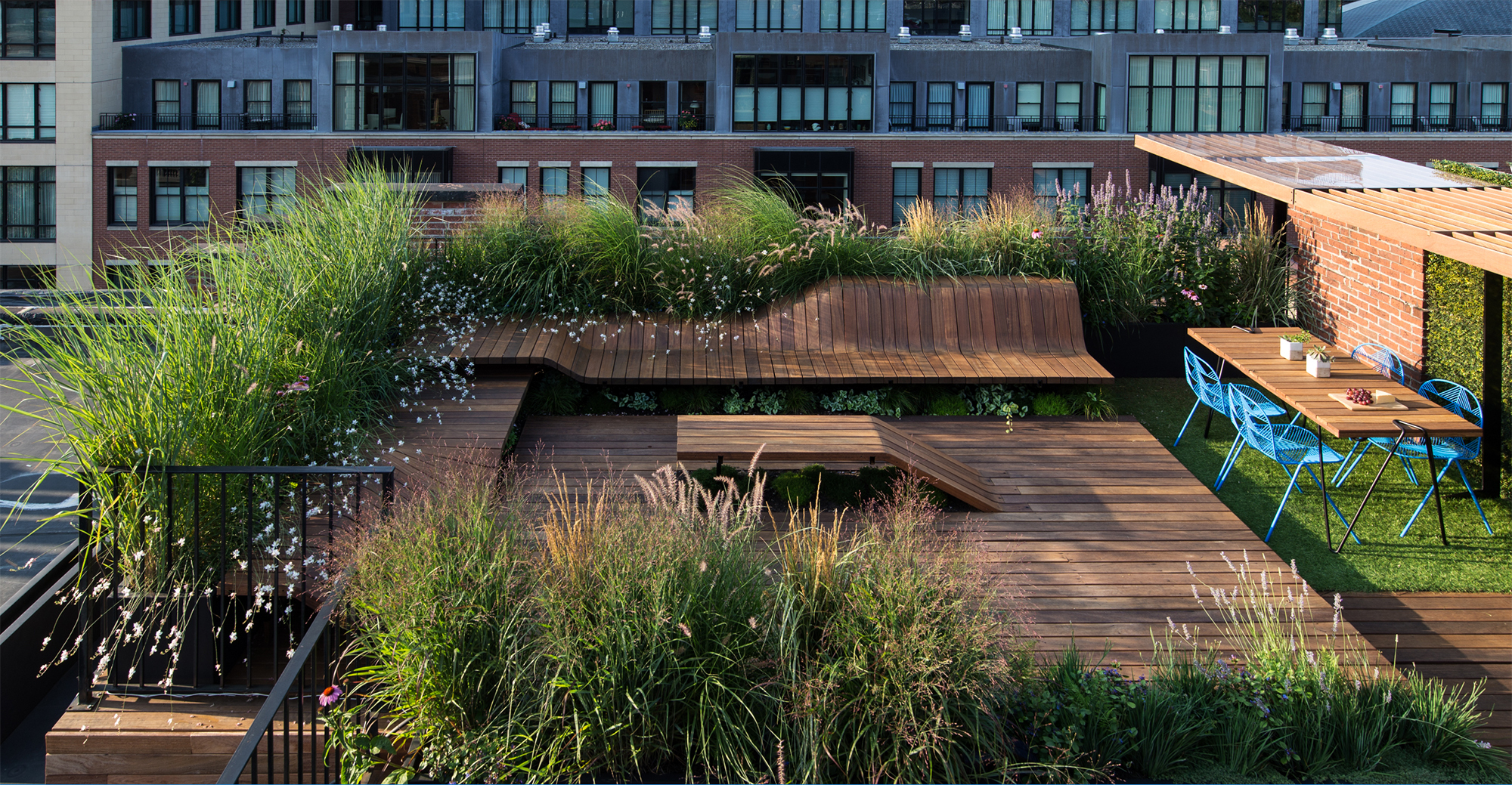 Wooden Living Roof Built With Japanese Joinery Techniques