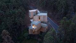 Casa del árbol en la montaña de Qiyun / Bengo Studio