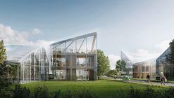 Zaha Hadid Architects presenta diseño para un ECO-Centro Deportivo en Inglaterra